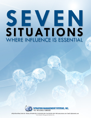 Seven Situations Where Influence is Essential