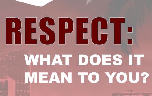 Respect: What does it mean to you?